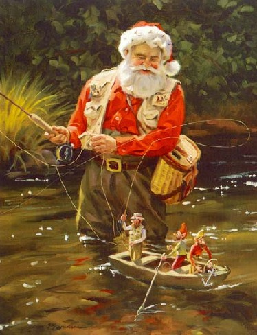 fly-fishing-santa